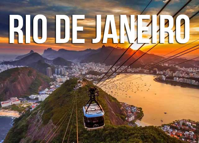 Transfer between airports and hotels in Rio de Janeiro